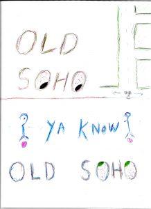 Old Soho - Drawing by Harvey Dog